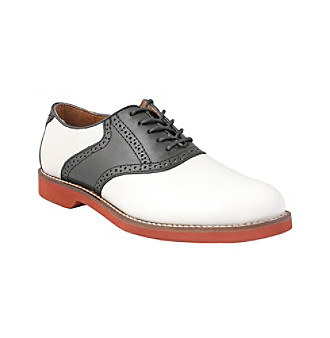 "Bass® Men's ""Burlington"" Saddle Oxford"