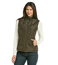 Relativity® Casual Diamond Quilted Vest