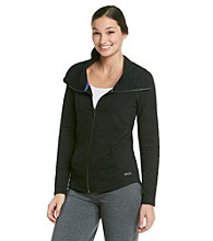 Calvin Klein Performance Zip-Up Jacket with Funnelneck Collar