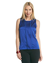 Calvin Klein Blue Top with Panel