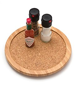 Lipper International Bamboo Lazy Susan