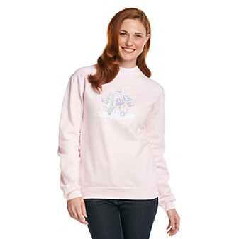 Morning Sun Crocus Cluster Sweatshirt