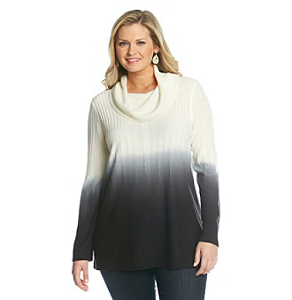 Notations Plus Size Sweater