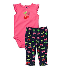 Carter's® Baby Girls' Pink/Navy 2-pc. Cherries Set