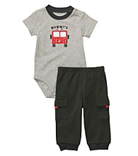 Carter's® Baby Boys' Grey 2-pc. Fire Truck Set