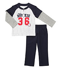 Carter's® Baby Boys' Navy 2-pc. Layered Baseball Pants Set