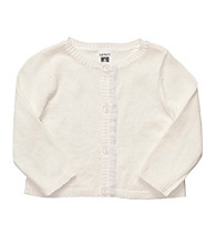 Carter's® Baby Girls' White Cardigan Sweater