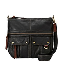 Fossil® Morgan North/South Top Zip Crossbody Bag
