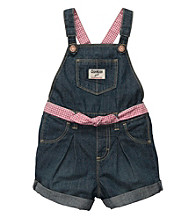OshKosh B'Gosh® Baby Girls' Denim Shortall