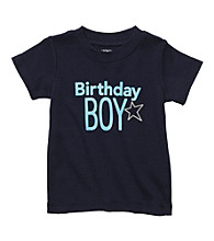 Carter's® Baby Boys' Navy Short Sleeve Birthday Tee