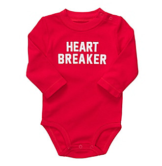 Carter's® Baby Boys' Red Heart Breaker Bodysuit
