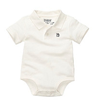 OshKosh B'Gosh® Baby Boys' White Short Sleeve Polo Bodysuit