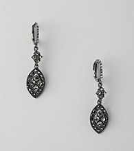Givenchy® Jet Drop Earrings