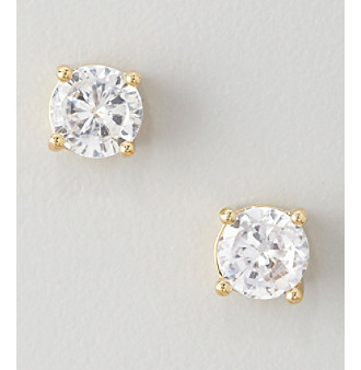 Big on sparkle, these crystal stud earrings will add the perfect glittering touch to any outfit.
