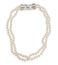 Carolee® Double Row Pearl Necklace