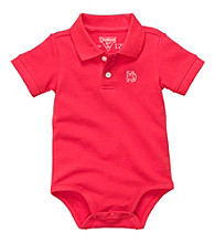 OshKosh B'Gosh® Baby Boys' Red Short Sleeve Polo Bodysuit
