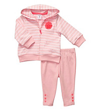 Carter's® Baby Girls' Pink 2-pc. Striped Jacket Set