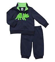 Carter's® Baby Boys' Navy 2-pc. Dinosaur Cardigan Set