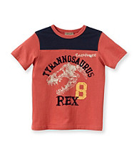 Ruff Hewn Boys' 2T-7 Coral Bloom Short Sleeve Graphic Tee