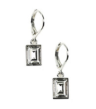 Givenchy® Crystal Drop Leverback Earrings