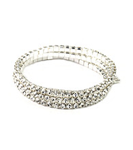 Givenchy® Crystal Stretch Bracelet
