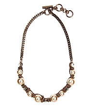 Givenchy® Blush Pearl Collar Necklace