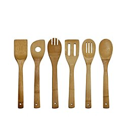 Oceanstar 6-pc. Bamboo Cooking Utensil Set
