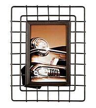 Burnes of Boston® Curved Thin Wire Graywash Frame