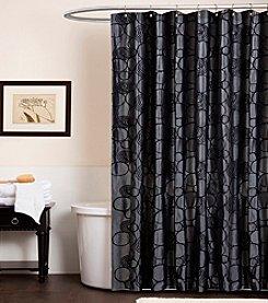 Lush Decor Circle Charm Shower Curtain