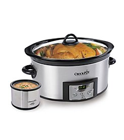 Crock-Pot® 6-qt. Slow Cooker with Little Dipper + $5 Cash Back by Mail see offer details