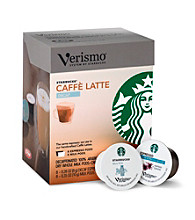 Starbucks® Verismo® Decaf Caffe Latte 2-Step 16-pk. Espresso & Milk Pods