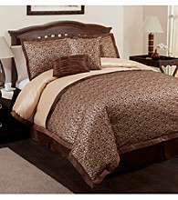Leopard 6-pc. Comforter Set by Lush Decor