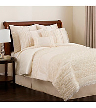 Paloma 4-pc. Ivory Comforter Set by Lush Decor