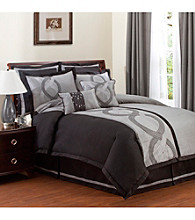 Talon 8-pc. Grey Comforter Set by Lush Decor