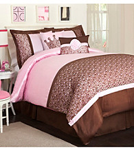 Leopard Pink Comforter Set by Lush Decor