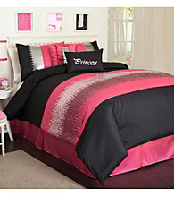 Night Sky Pink Comforter Set by Lush Decor