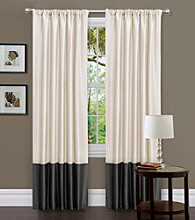 Lush Decor Milione Fiore Window Curtain Set