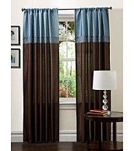 Lush Decor Geometrica Window Curtain Set