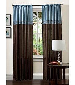 Lush Decor Geometrica Window Curtain Set
