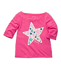 OshKosh B'Gosh® Baby Girls' Pink Long Sleeve Star Tee