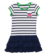 Carter's® Girls' 2T-6X Navy/White Striped Dress