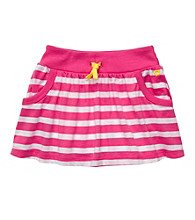 Carter's® Girls' 2T-6X Pink/White Striped Skort