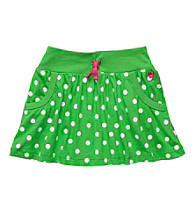Carter's® Girls' 2T-6X Green/White Polka-Dot Skort