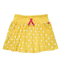 Carter's® Girls' 2T-6X Yellow/White Polka-Dot Skort