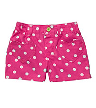 Carter's® Girls' 2T-6X Pink/White Polka-Dot Shorts