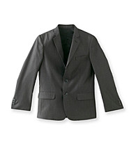 Calvin Klein Boys' 8-20 Black End on End Jacket