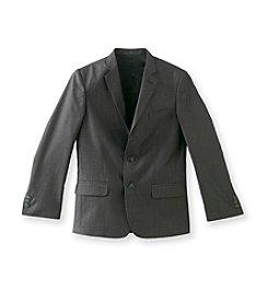Calvin Klein Boys' 8-20 Black End on End Jacket