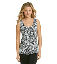 Relativity Career IVP Pleatneck Printed Tank