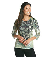 Breckenridge 3/4 Sleeve Sublimation Tee- Strong