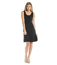 Calvin Klein Matte Jersey Sheath Dress